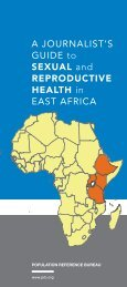 A Journalists's Guide to Sexual and Reproductive Health in East Africa