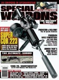 Winter 2003 - Advanced Armament