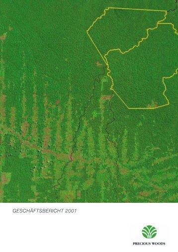 Geschäftsbericht 2001 - Precious Woods