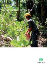 Geschäftsbericht 2006 - Precious Woods