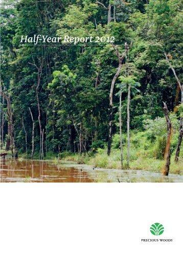 Half-Year Report 2012 - Precious Woods