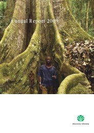 Annual Report 2009 - Precious Woods