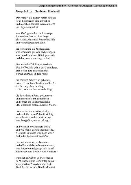 Goldene hochzeit geschenk mit gedicht