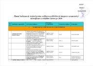 Planul Judetean de Actiuni pentru realizarea politicilor de integrare ...