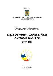 click aici - Dezvoltarea capacitatii administrative
