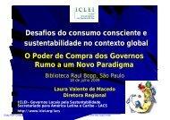 Apresentação da palestra (pdf) - Prefeitura de São Paulo - Governo ...