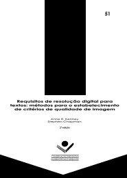 Requisitos de resolução digital para textos: métodos para ... - ARQ-SP
