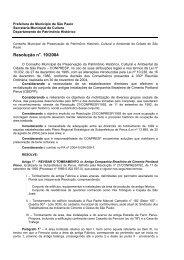 Resolução 19/04 - Prefeitura de São Paulo