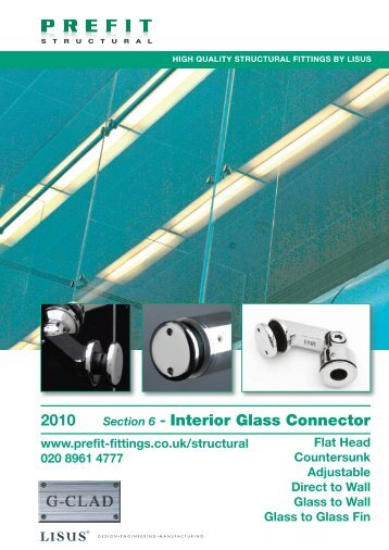2010 Section 6 - Interior Glass Connector - PREFIT