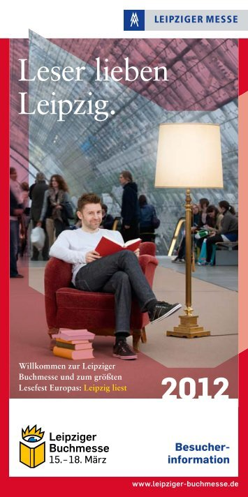 Leser lieben Leipzig. - Leipziger Buchmesse
