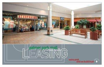 palmer park mall - Pennsylvania Real Estate Investment Trust