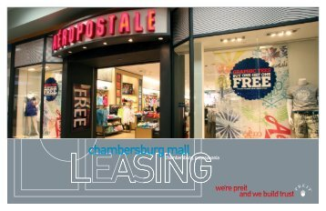 chambersburg mall - Pennsylvania Real Estate Investment Trust