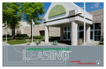 wiregrass commons mall - Pennsylvania Real Estate Investment Trust