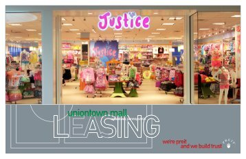uniontown mall - Pennsylvania Real Estate Investment Trust