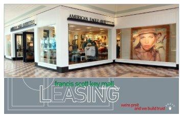 francis scott key mall - Pennsylvania Real Estate Investment Trust