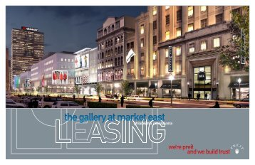 the gallery at market east - Pennsylvania Real Estate Investment Trust