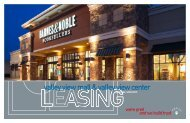 valley view mall & valley view center - Pennsylvania Real Estate ...