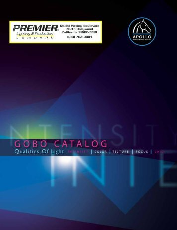 Entire Catalog - Premier Lighting and Production Company