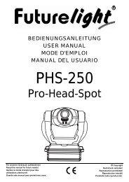 USER MANUAL PSC-575