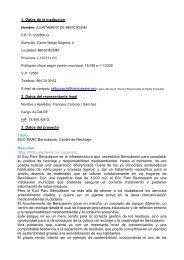 ECO PARC Benicàssim. Centro de Reci - Premio Conama