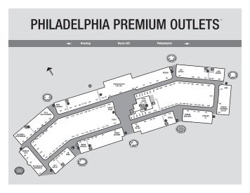 Easy Access To Ph - Philadelphia outlets map
