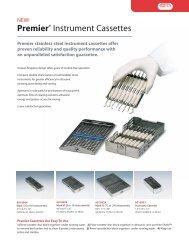 Cassette Ad Sheet - Premier Dental