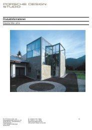 Produktinformationen - PORSCHE DESIGN Presseportal