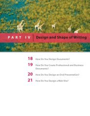 Chapter 18 - How Do You Design Documents?