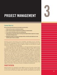 PROJECT MANAGEMENT - Pearson