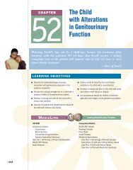 Chapter 52: The Child with Alterations in Genitourinary Function