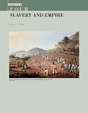 chapter 4 slavery freedom and the Stratton mountain school history search this site home multicultural studies chapter 4: slavery, freedom and the struggle for empire to 1763 chapter 4.