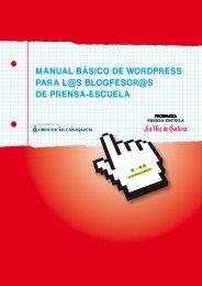 manual básico de wordpress para l@s blogfesor - Prensa-Escuela
