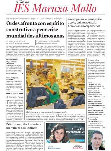 IES Maruxa Mallo A Voz do - Prensa-Escuela