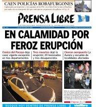 CAEN POLICÍAS ROBAFURGONES - Prensa Libre