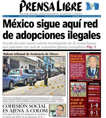 COHESIÓN SOCIAL ES AJENA A COLOM - Prensa Libre