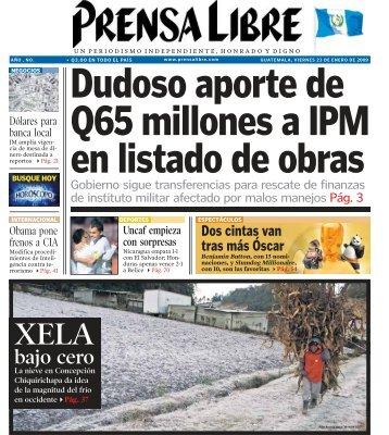 bajo cero - Prensa Libre