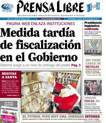 PÁGINA WEB ENLAZA INSTITUCIONES - Prensa Libre