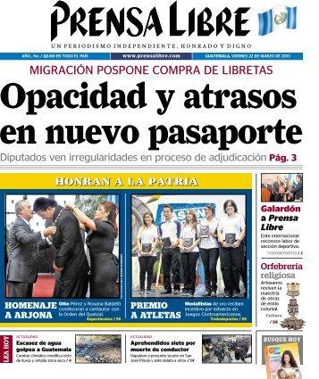 PDF 22032013 - Prensa Libre
