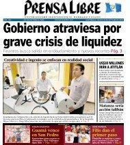 Guamá vence en San Pedro Filis dan el primer paso - Prensa Libre