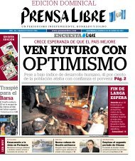 EDICIÓN DOMINICAL - Prensa Libre