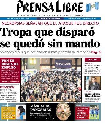 PDF 11102012 - Prensa Libre