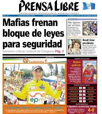 Sectores critican actitud de Congreso Pág. 2 - Prensa Libre