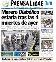 PRESIONAN A - Prensa Libre