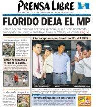 Colom acepta renuncia del fiscal general, quien sería ... - Prensa Libre