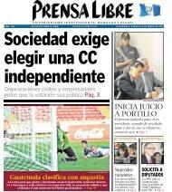 INICIA JUICIO A PORTILLO - Prensa Libre