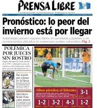 Pronóstico - Prensa Libre