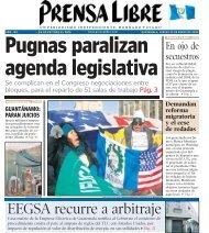 EEGSA recurre a arbitraje - Prensa Libre