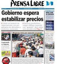 4 Colom ve avances en negociaciones con em ... - Prensa Libre