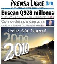 Con orden de captura - Prensa Libre