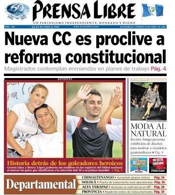 Pág. 38 Departamental - Prensa Libre